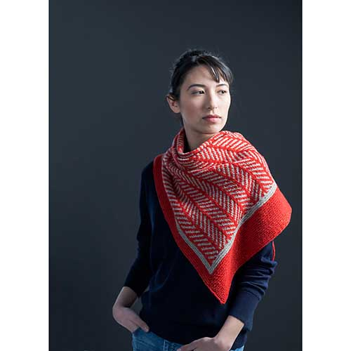 Redshift Shawl in Loft