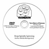 Drop Spindle Spinning DVD